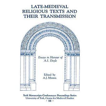 Textes religieux tardifs et leur transmission