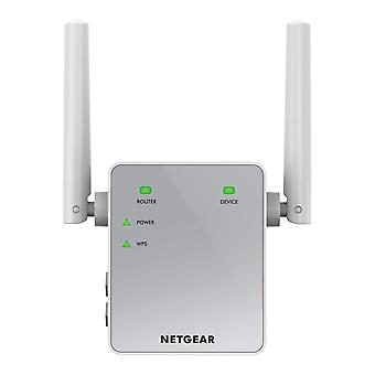 Netgear wi-fi booster range extender ex3700 - coverage up-to 1000 sq ft and 15 devices with ac750 du