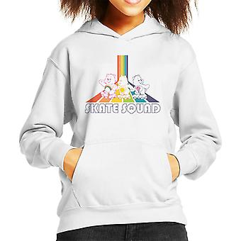Pflege Bären Skate Squad Kid's Kapuzen Sweatshirt