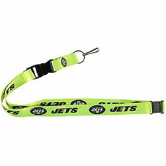 New York Jets NFL Neon Lanyard