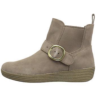 FitFlop Womens Superbuckle gesloten toe enkel Chelsea Boots