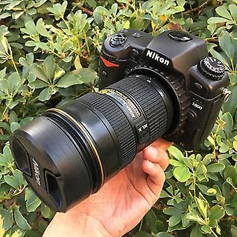 Ei-toimiva fake dummy DSLR kamera malli photo studio rekvisiitta 24-70 objektiivi Nikon D800
