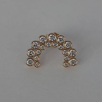 Cercei Navona Diamonds & 18K Gold