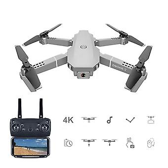 Remote Control Foldable Drone With 4k Hd Wide Angle Camera