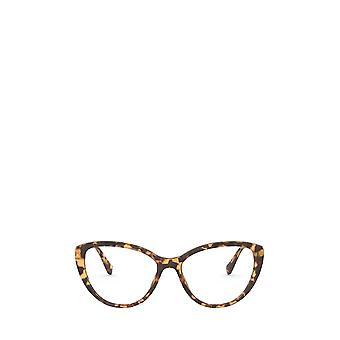 Miu Miu MU 02SV light havana female eyeglasses