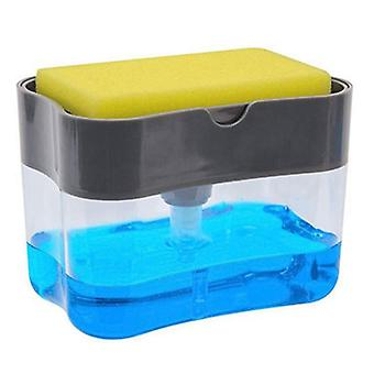 Caddy Manual Press Foam Dispenser, Pump Sponge voor badkamer