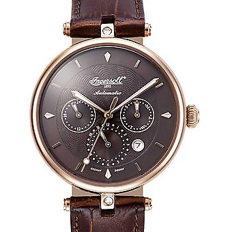 Ladies Watch Ingersoll IN1318RBR, Automatic, 38mm, 3ATM