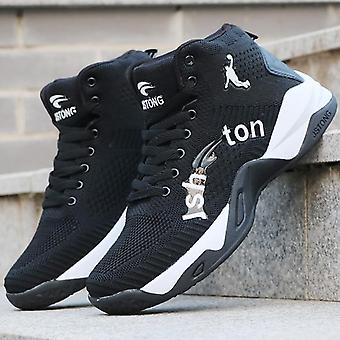 Male Basketball Culture Sports Shoes, High Quality Breathable Sneakers