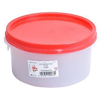 Scola ADC2.5KG/40 Air Drying Clay 2.5kg Terracotta