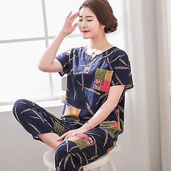 Huippuluokan uusi naisten pyjamasetti