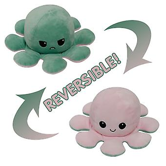 Cute Plush Double-sided Octopus Doll, Express Your Mood Accurately