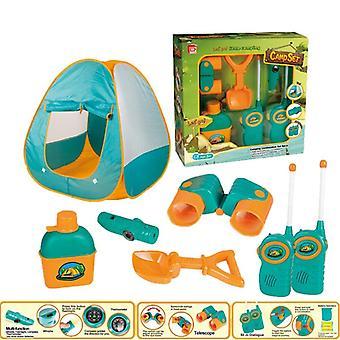 7pcs الاطفال مغامرة التخييم شاطئ خيمة مجموعة