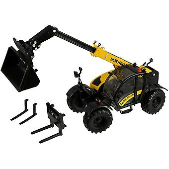 Britains 1:32 New Holland TH 7.42 Telehandler Tractor Toy, Collectable Farm Set Toy for Children