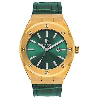 Paul Rich Signature King's jade Leather PR68GGL watch 45 mm