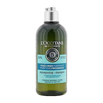 Aromakrom rening friskhet schampo (normalt till oljigt hår) 257374 300ml/10.1oz