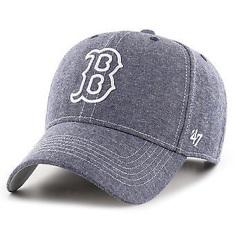 47 Brand Strapback Chambray Cap - EMERY Boston Red Sox