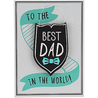 Father's Day Plaque Card