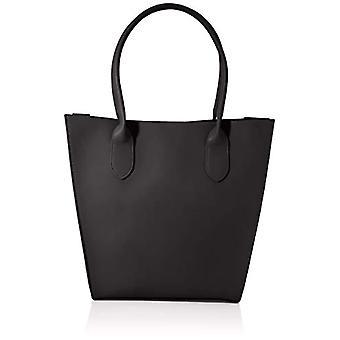PIECES PCMILIAN Shopper, Case. Woman, Black, One Size(2)