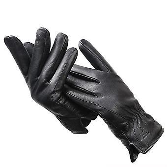 Einfache Herren Lederhandschuhe