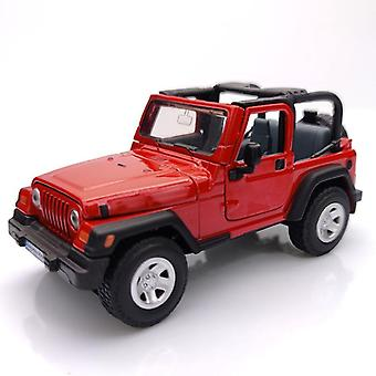 1:32 SIKU 4870 Jeep Wrangler Die casting Model These horsemen|Diecasts & Toy Vehicles