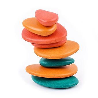 Puzzle Zabawki edukacyjne Kamienie Układanie gry dla dzieci wczesnego uczenia się matematyki P15C| Bloki