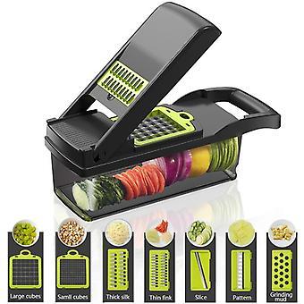 Vegetable Fruits Tool Grater Cutter Shredder Garlic Meat Chopper Carrot Potato Slicer Salad Maker