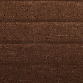 vidaXL sillas de comedor 6 piezas. tela marrón