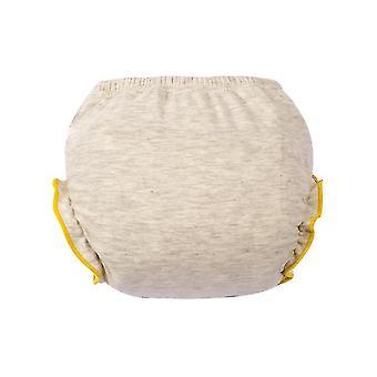 16-18kgコットンパンティー用グレー110cm、新生児ファッション洗濯可能おむつパンツ、ベビートレーニングパンツaz20697