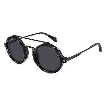 Police Lewis 06 SPLA27 0568 Total Shiny Gunmetal/Smoke Sunglasses