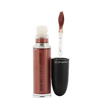 Retro matt flüssige Lippenfarbe 132 Edelsteine & Rosen (Bronzerose) (metallic) 261858 5ml/0,17 Oz