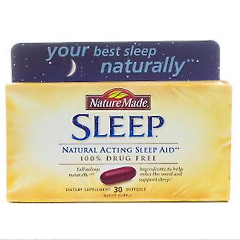 Nature Made Sleep Aid Natural, 30 Softgels