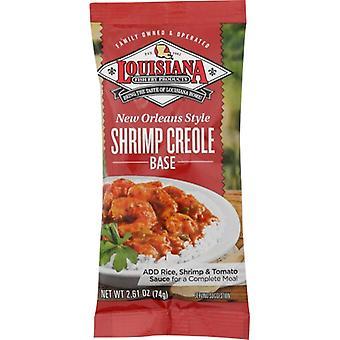 Louisiana Fish Fry Mix Camarão Crioulo, Caso de 24 X 2.61 Oz
