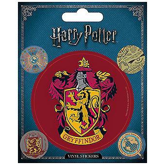 Harry Potter Vinyl Gryffindor Sticker (Pack of 5)