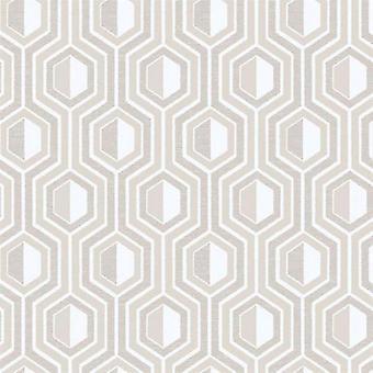 Tempo Hexagon Beige Wallpaper