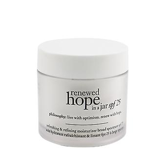Philosophy Renewed Hope In A Jar SPF 25 Refreshing & Refining Moisturizer 60ml/2oz