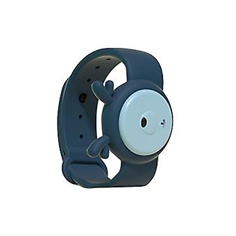 Children's Ultrasonic Mosquito Repellent Bracelet, for Indoors and Outdoors Blue Fawn