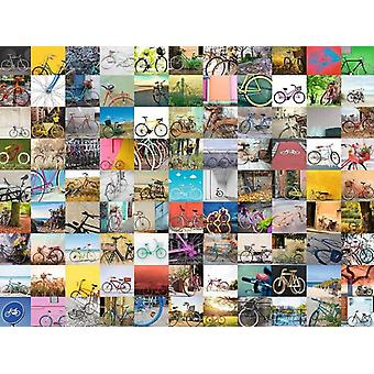 Ravensburger 99 Bicycles Jigsaw Puzzle (1500 Pieces)