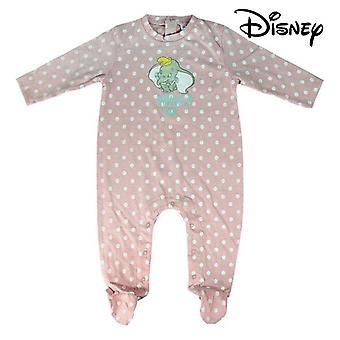 Baby's Long-sleeved Romper Suit Disney Pink