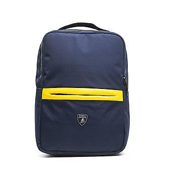 Lamborghini v3 blu navy backpack