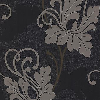 Arthouse Sophie Conran Midnight Garden Noir Fond d'écran 906104