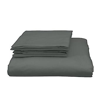 Quilt Cover Set Ultra Soft Luxury Bedding Charcoal