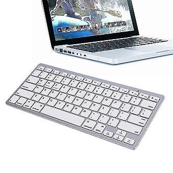 Ultra Slim Wireless Bluetooth Tastatur für Android Mac Windows Os System