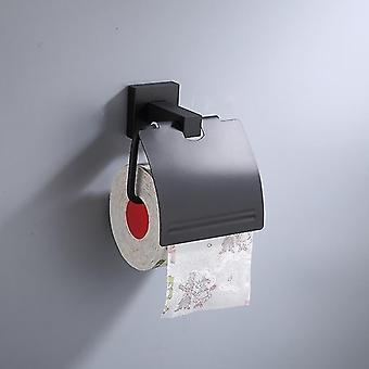 Massiivinen alumiini kylpyhuone laitteisto yksi pyyheteline seinä ilmapuhallin teline wc harja pidike koukku