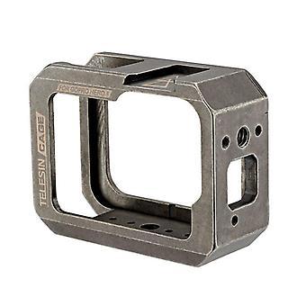 GP-FLM-802 Vlog Vlogging Cage Rig Stabilizer Protective Case Frame for GoPro Hero 8 Black Action