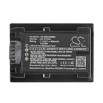 Cameron Sino Sdx450Mc Battery Replacement For Sony Camera