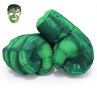 Hulk Smash kezek Cosplay kesztyű