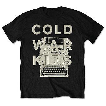 Koude oorlog kinderen unisex tee: typemachine