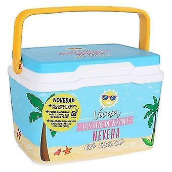 Beach sand toys portable fridge blue/5 l