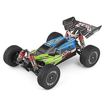 2.4G carreras rc coche de competición juguetes para niños con velocidad de hasta 60 km / h, chasis de metal, 4x4, rc eléctrico