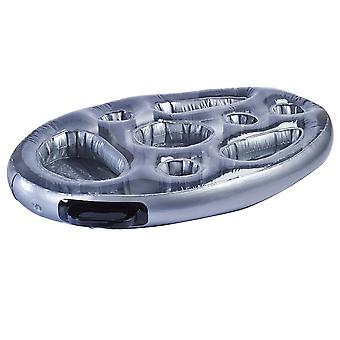 1 Set aufblasbare schwimmende Trinkhalter multifunktionale langlebige Drink Float